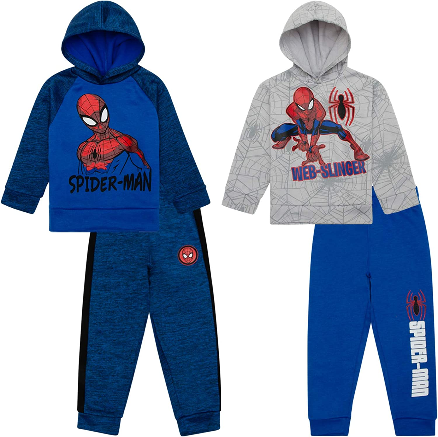 Spiderman Hoodies Sweatshirts & Sweatpants 4 Piece Set, Kids Clothes...