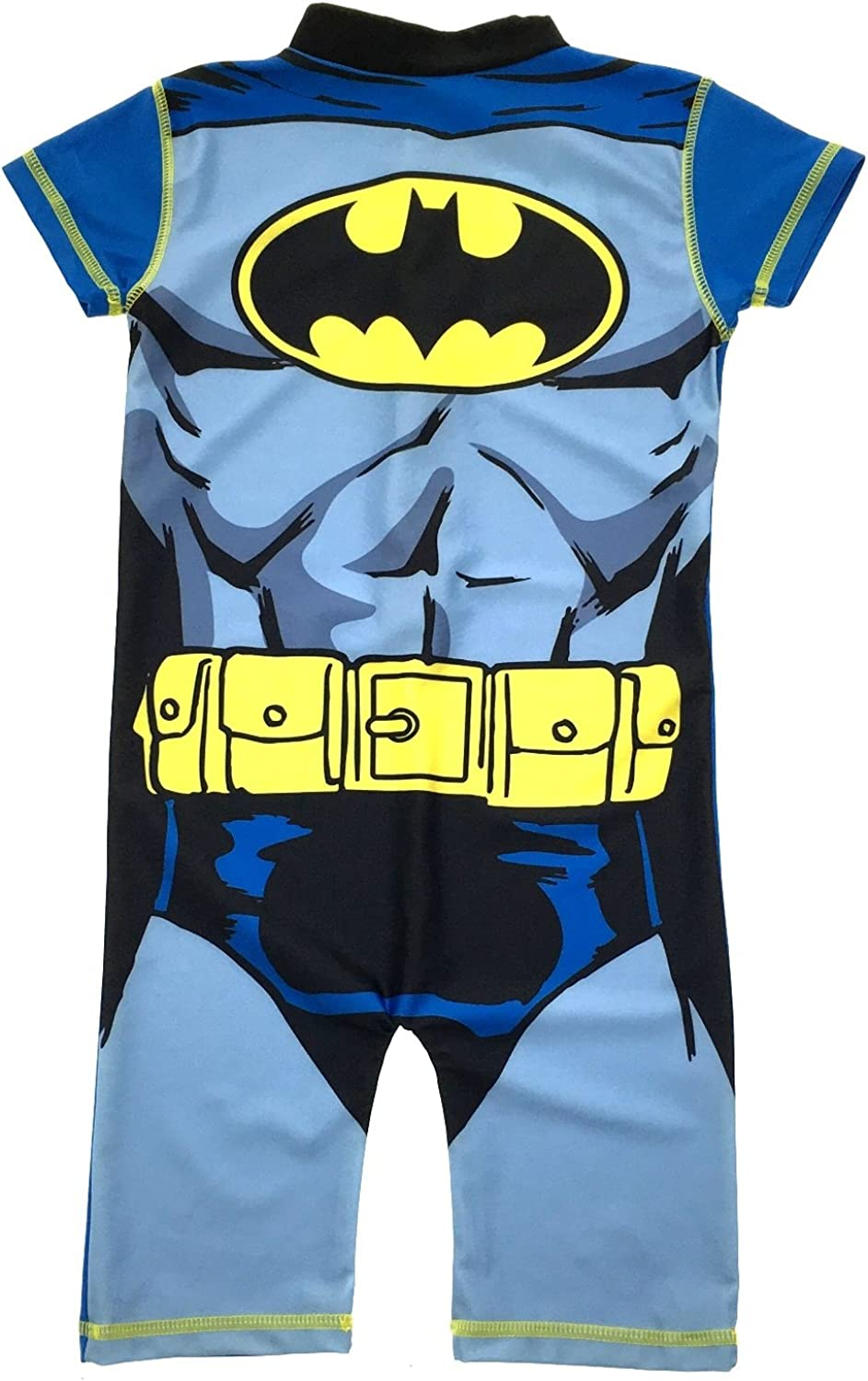 Ultra Violet Protection UPF Protection 50+ Sun Protection Fabric Baby Toddler Young Boys Cartoon Sunsuit Swimsuit