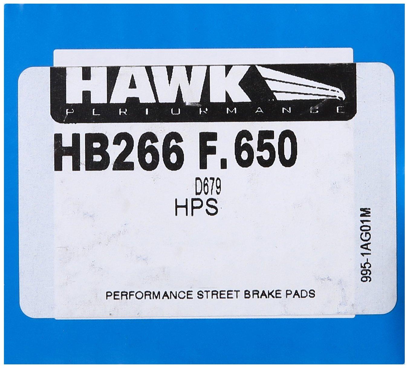 Hawk Performance HB667F.622 HPS Brake Pad