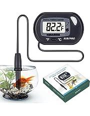 Termometro digitale per acquario Risepro, termometro per acquario marino