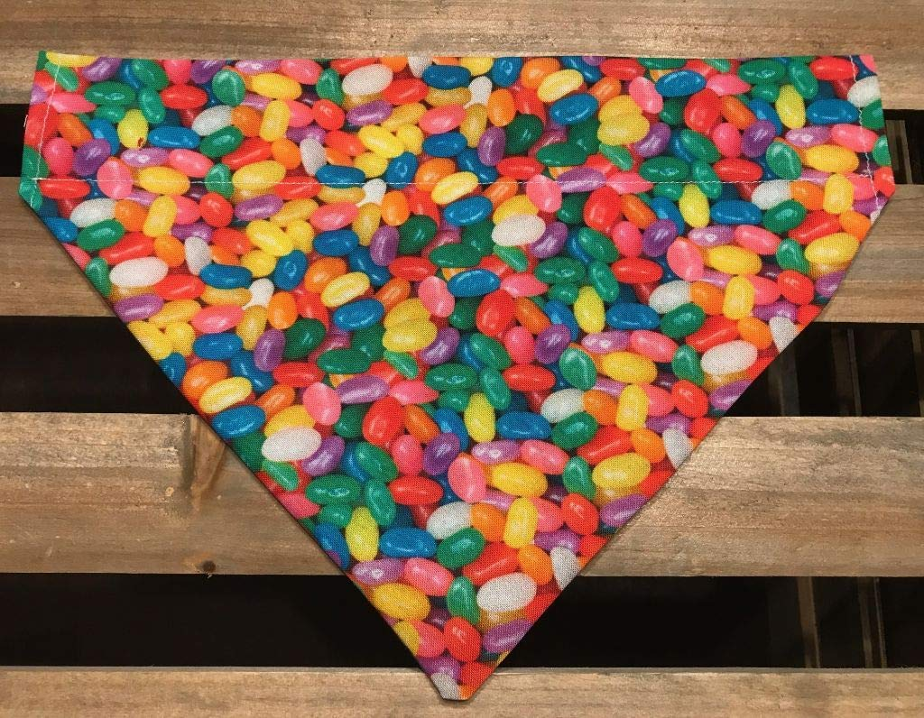 Lots of Jelly Beans Over the Collar Pet Bandana