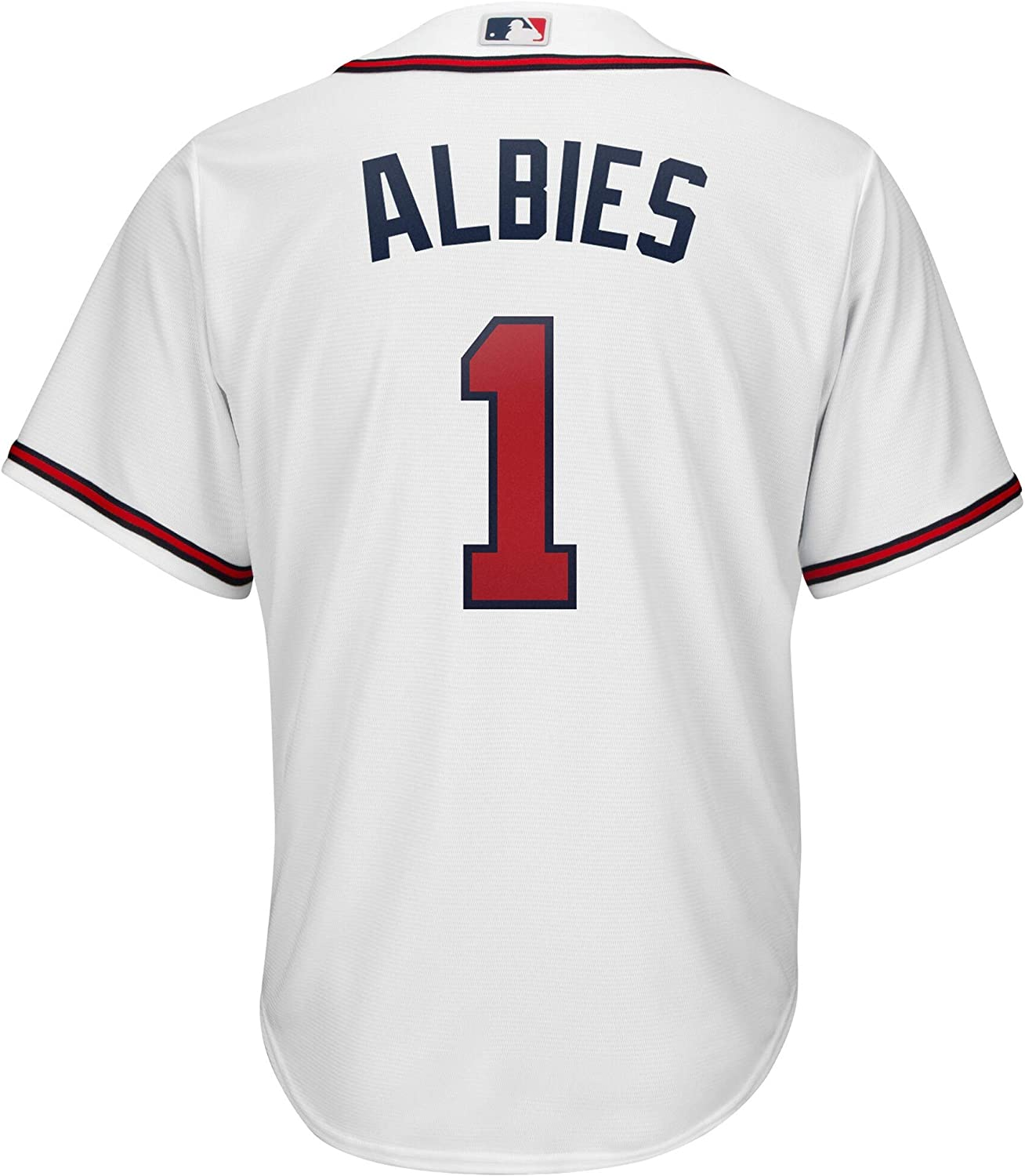 Outerstuff Ozzie Albies Atlanta Braves MLB Boys Youth 8-20 Player Jersey