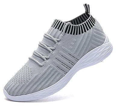 adituob Damen Leichte Laufschuhe Atmungsaktiver Trainer Sneaker Lässige Sportschuhe