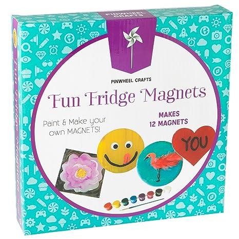 Amazon Com Fridge Magnet Art Activity Set Make Your Own Self