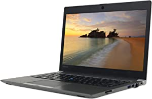 Toshiba Portege Z30-C 13.3 inches HD Laptop, Core i7-6600U 2.6GHz, 16GB RAM, 256GB Solid State Drive, Windows 10 Pro 64Bit, Webcam (Renewed)