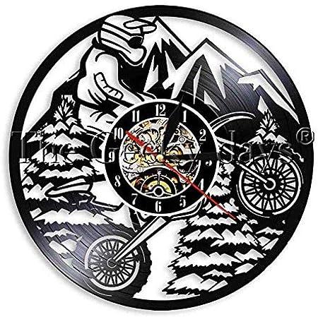 ClockHM 1 Unidades Modern Cycle Sport Vinyl Record Reloj de Pared ...