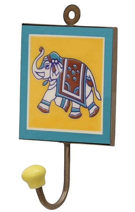 SouvNear tronco diseño del elefante suerte - hecho a mano ...