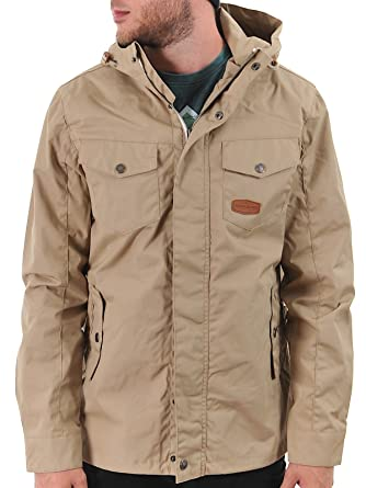 Jesse James Beige Industry Summer Parka Jacket  Jesse James  Amazon.co.uk   Clothing 055281ca4