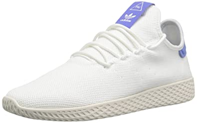 adidas Originals Men s Pharrell Williams Tennis HU Running Shoe  White Chalk c7a0016d57448