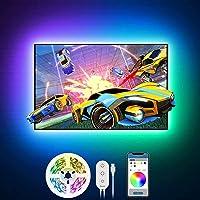 Govee Tiras LED TV 2m, Luces LED RGB Retroiluminación con Control App, 16 Millones Colores y 7 Modo Escenas, para TV y…