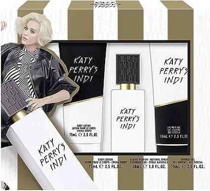 Katy Perry Indi Eau De Parfum Shower Gel And Body Lotion Gift Set Amazon Co Uk Beauty