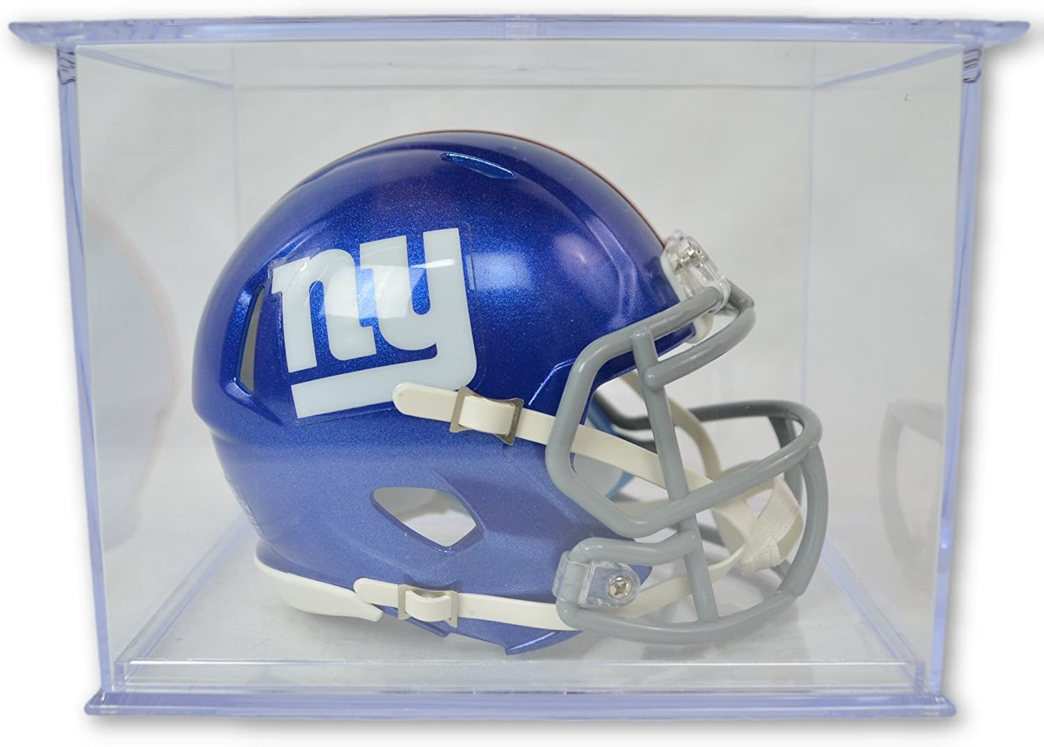 Great Sports Fan Collectible Riddell Official National Football League Fan Shop Authentic NFL Mini Speed Helmet and Display Case Bundle Office Home or Man Cave