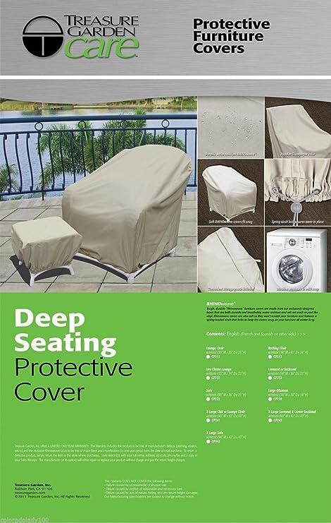Amazon Com Treasure Garden Protective Patio Furniture Cover Cp241