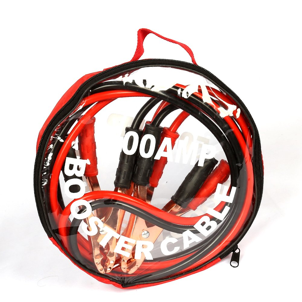 La batteria per auto salta i cavi del ripetitore di 500amp 2,5 metri per luso automobilistico del camion del furgone diesel della benzina