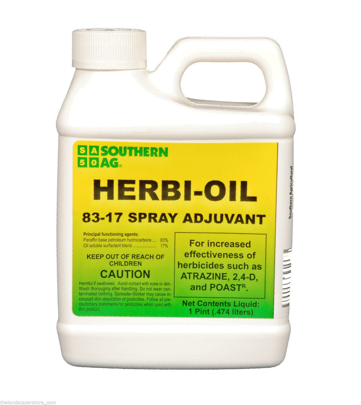 (Ship from USA) Herbi - Oil 83-17 Surfactant Spray Adjuvant for Herbicides 16oz Pint /ITEM NO#8Y-IFW81854262110