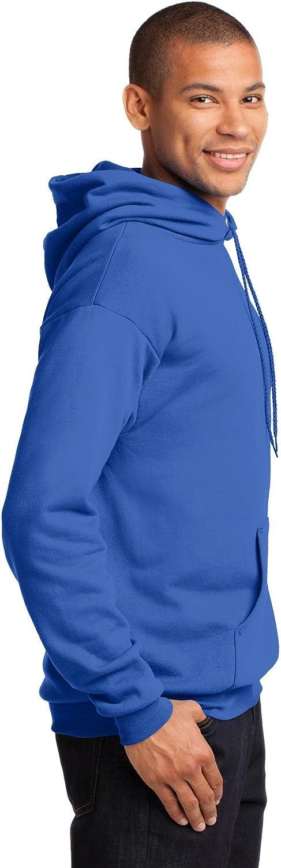 Port Company Classic Pullover Hooded Sweatshirt Pc78H Dark Chocolate Brown