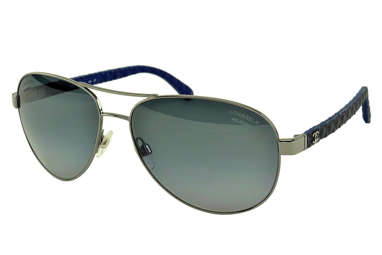 Chanel - 4204q c101z7 polarizadas gafas de sol de aviador ...
