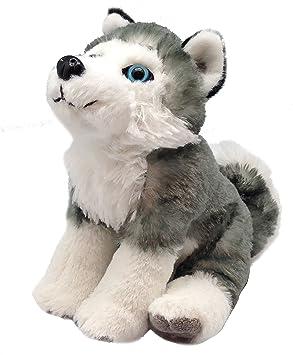 Wild Republic - CK Mini Husky Siberiano de Peluche, 20 cm (13435)