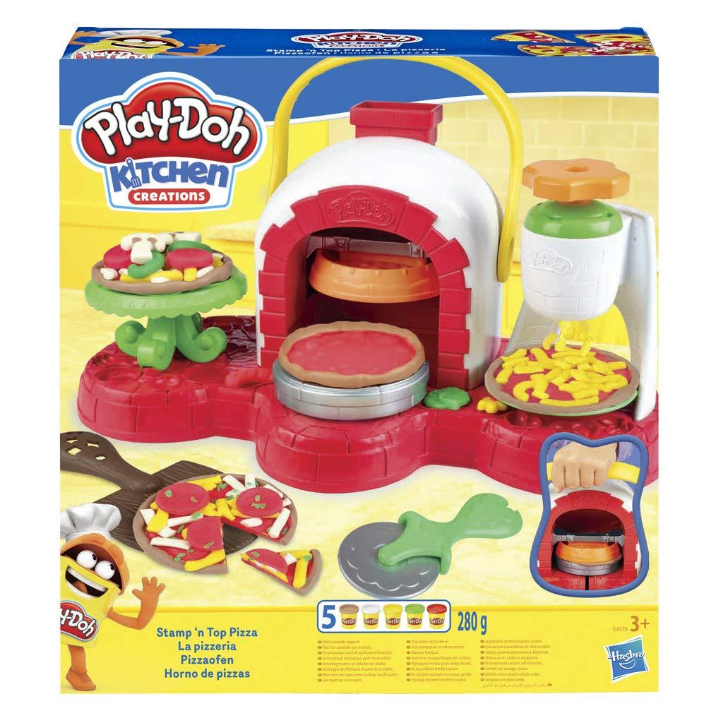 Play-Doh Horno De Pizza (Hasbro E4576EU4): Amazon.es: Juguetes y ...