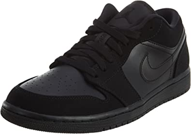 Jordan Air 1 Low Mens Shoes Size 8.5 Black/Black/Black