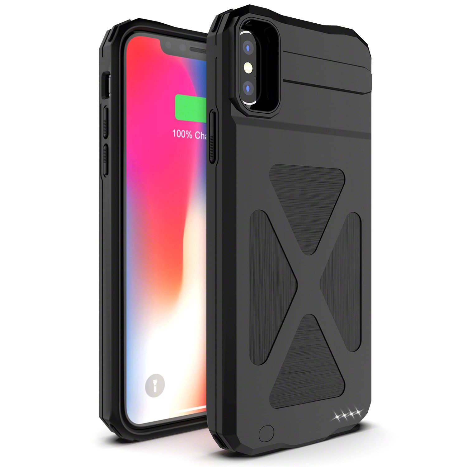 finest selection 6ba88 74cb1 iPhone X Battery Case, Smiphee 4000 mAh Portable Charging Case for ...
