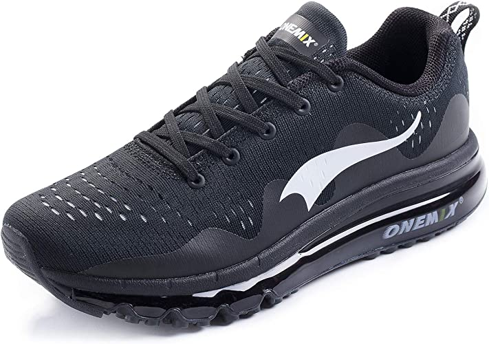 ONEMIX Zapatillas de Running para Hombre, Transpirables Zapatos Hombre Deportivos para Correr Gimnasio Deportivas Fitness: Amazon.es: Zapatos y complementos