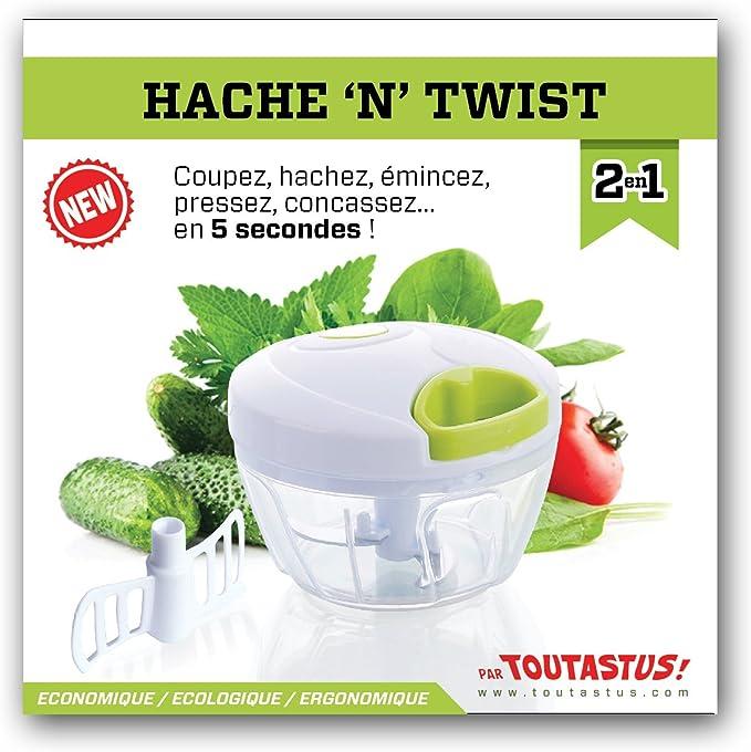 Ole Manual – Mini picadora Twist para frutas y verduras, perejil ...