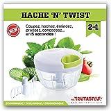 Hachoir manuel mini twist pour fruits et légumes ail persil code 08990390