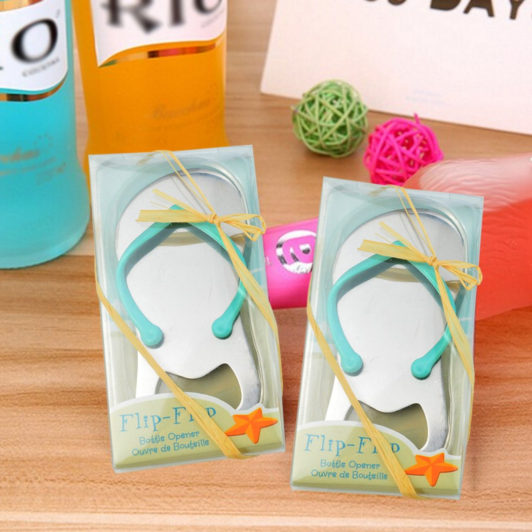 d3066c0220a493 Amazon.com  36 pack Flip-flop Bottle Opener with Gift Wrap for Each Opener