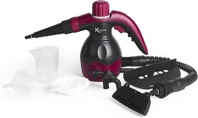 Kleeneze KL0573 10 in 1 Handheld Steam Cleaner - Best for Bathroom Sanitization