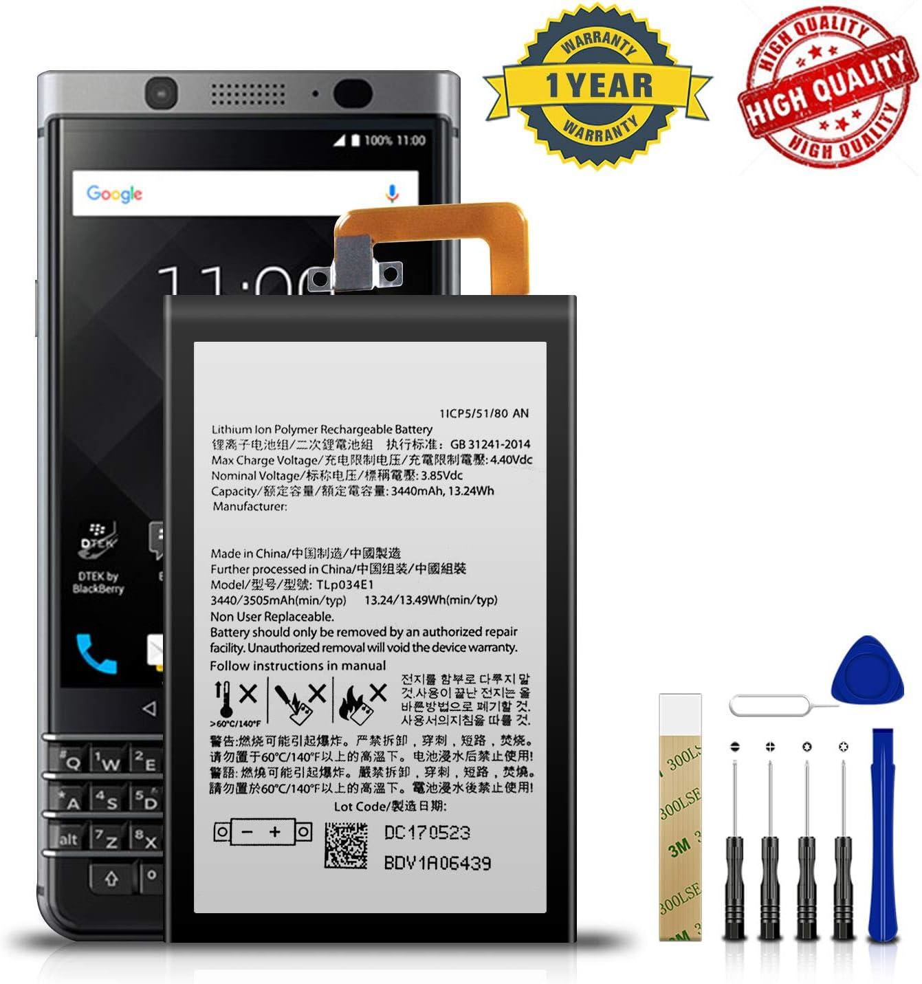 bateria BlackBerry KeyOne BBB100-1 / BBB100-2 / BBB1000 3