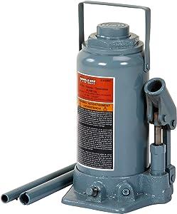 Pro-LifT B-033NC Grey Hydraulic Bottle Jack - 30 Ton Capacity