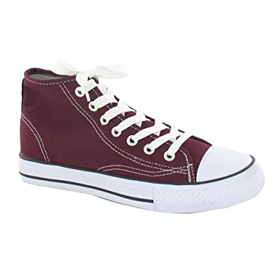 look good shoes sale buy sale reputable site Amazon.com | Spot On Womens/Ladies Canvas Baseball Boots | Shoes