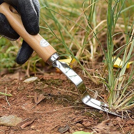 omufipw Garden Hand Weeder Tool J/äten L/öwenzahn Entferner Grubber f/ür Blumengem/üse Pflanzen Pflege