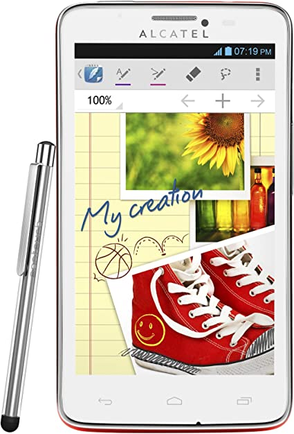 Alcatel One Touch Scribe Easy - Smartphone (127 mm (5