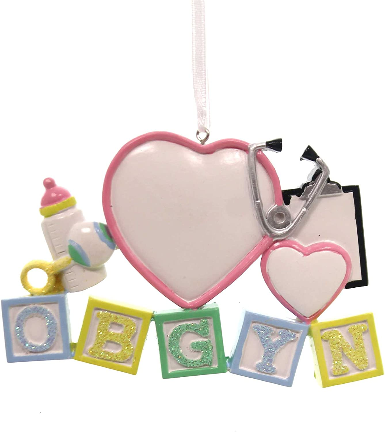 PERSONALIZED ORNAMENTS OB/GYN Resin Doctor Female OR725