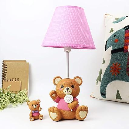 EFGS Lámpara de Escritorio para niños, lámpara de mesita de ...