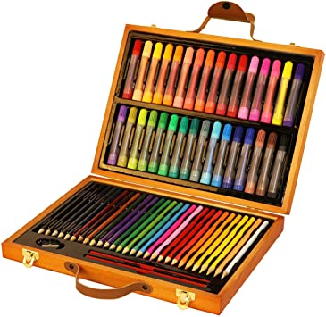 LIBILAA Dibujo para niños Juego de 63 Piezas Juego de Pintura ...
