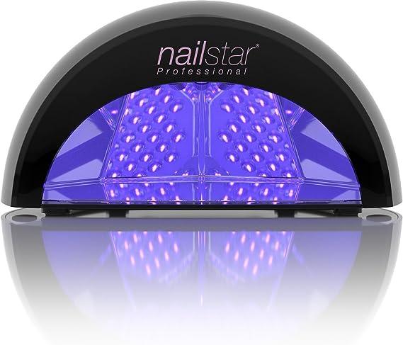NailStar Lámpara LED Profesional Seca Esmalte de Uñas. Para ...