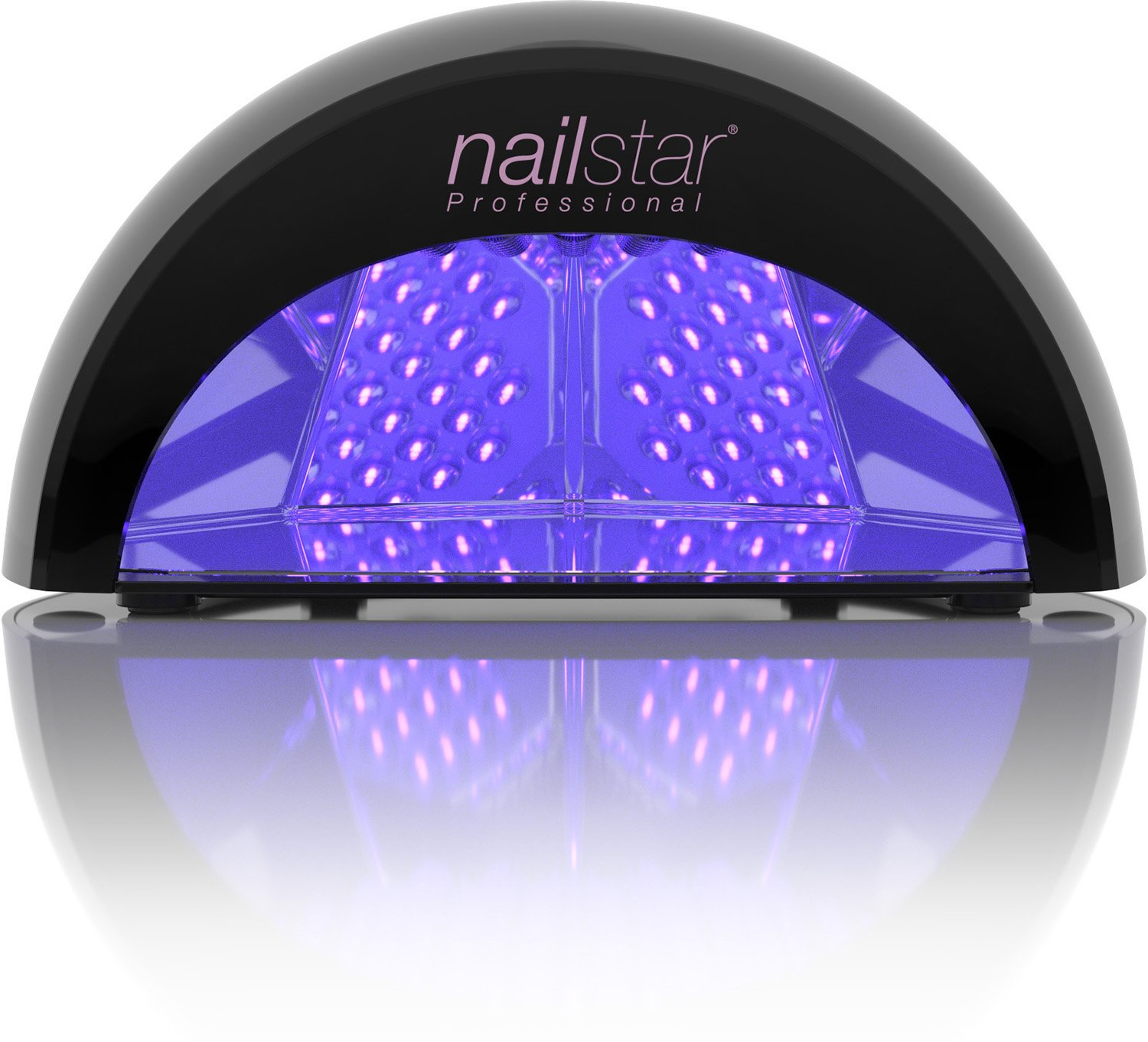 NailStar Professional LED Nail Dryer Nail Lamp for Gel Polish with 30sec, 60sec, 90sec and 30min Timers