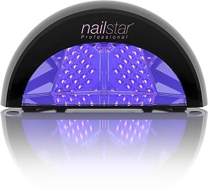 664811fea8978 NailStar Lámpara UV Profesional Seca Esmalte de Uñas. Para Manicura Shellac  y Gel