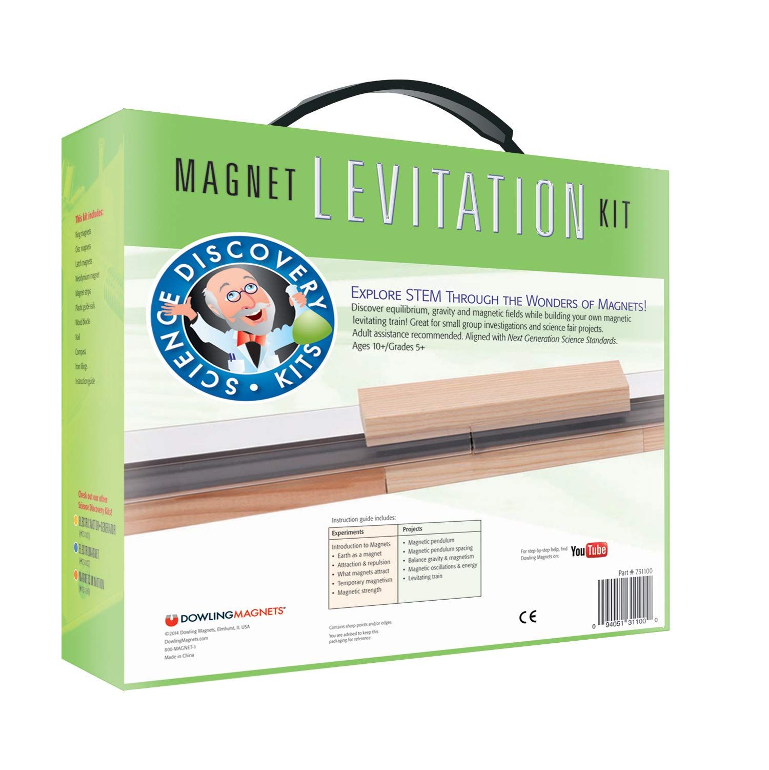 Dowling Magnets Science Discovery Kit: Magnet Levitation by Dowling Magnets (Image #1)