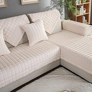 JIEJING Funda de sofá,Espesar Felpa Protector para sofás ...