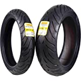 Pirelli Angel ST Front & Rear Street Sport Touring Motorcycle Tires (1x Front 120/70ZR17 1x Rear 190/55ZR17)