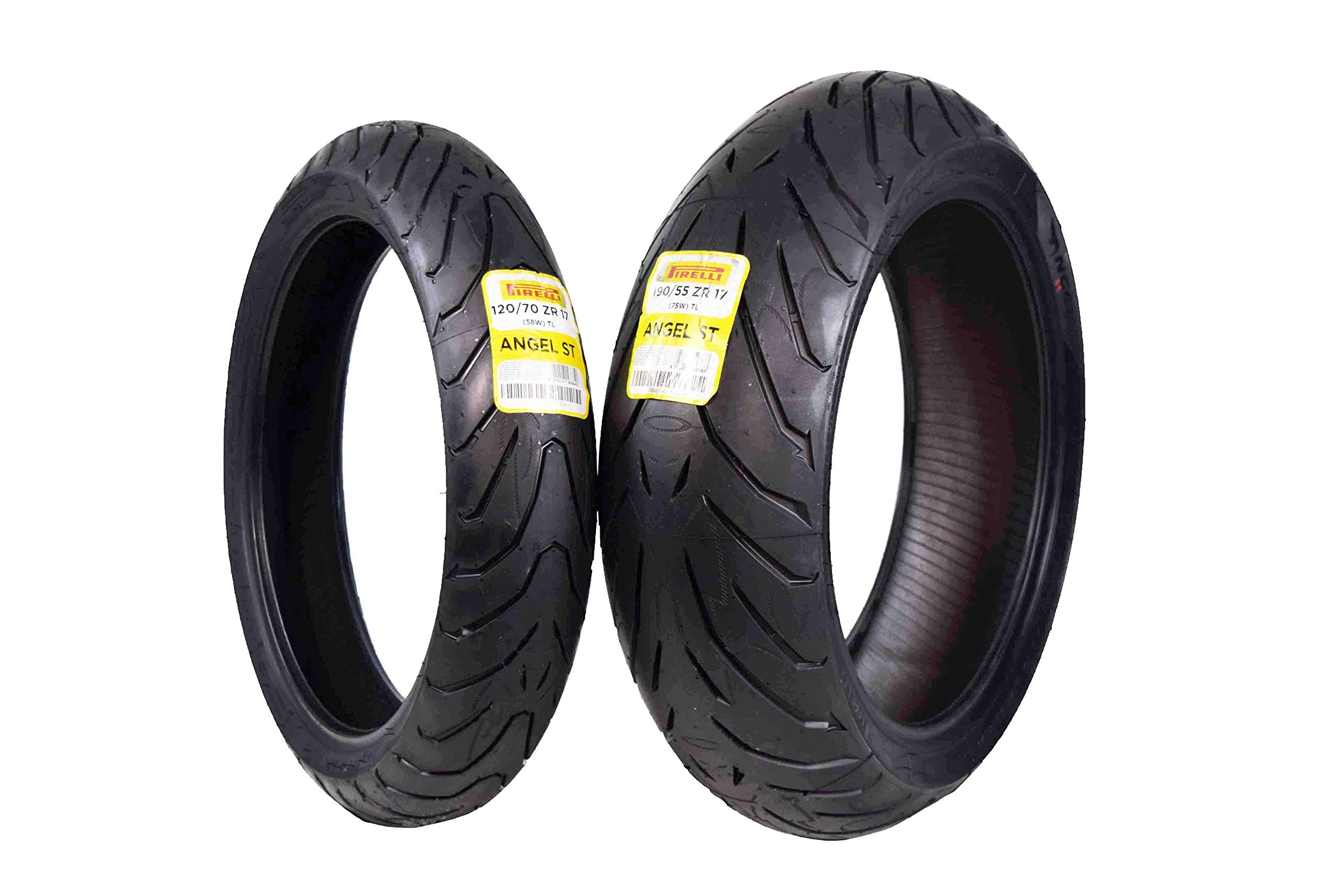 Pirelli Angel ST Rear Street Sport Touring Motorcycle Tires (1x Rear 190/55ZR17)