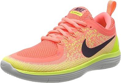 Nike Free RN Distance 2, Zapatillas de Running para Mujer, Naranja (Lava Glow/Barely Volt/Dark Raisin), 36 EU: Amazon.es: Zapatos y complementos