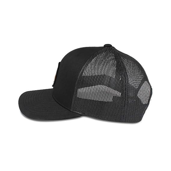 Mammoth Mountain Hat - Trucker Mesh Snapback Baseball Cap - Black at Amazon  Men s Clothing store  5b24ca9fe