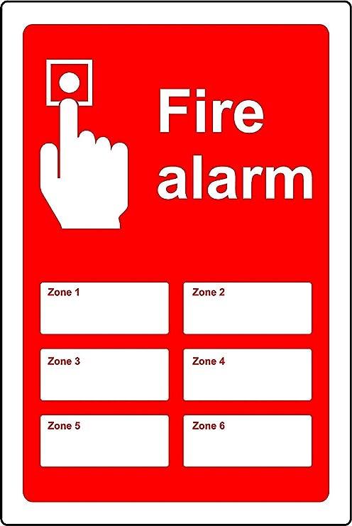 Alarma Contra Incendios signos zone1 - Señal de seguridad ...