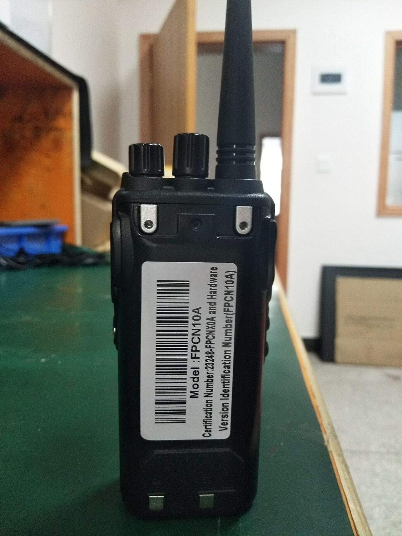 1 Unit SAMCOM FPCN10A Walkie Talkie 20 Channel Wireless Intercom with Group Button Two Way Radio,UHF 400-470MHz with 2.5 Miles Range