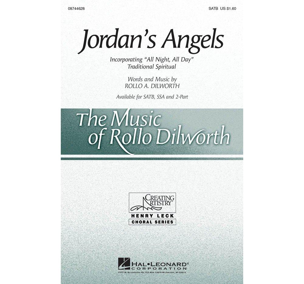 Download Hal Leonard Jordan's Angels SATB composed by Rollo Dilworth pdf